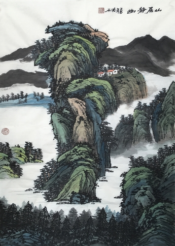 http://up.chushan.com/images/沈士雷--《山居静幽》